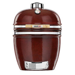 Kamado Chef 1900 Prestige Red Smooth-Stand Alone (rozsdamentes acél)