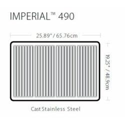 Broil King kerti gázgrill- Imperial 490 Built-in