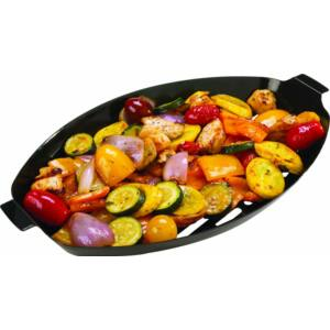 Zöldség grillező kosár