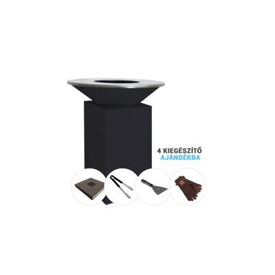OFYR CLASSIC BLACK 85-100 csomag akció + kiegészítő termékek: OFYR Szakácskönyv, OFYR ÉTEL FOGÓ CSIPESZ, OFYR LAPÁT, OFYR BŐR KESZTYŰ