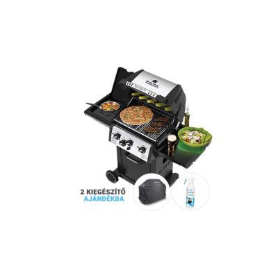 Monarch 340B csomag akció + ajándék prémium takaró, grill tisztító