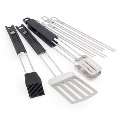 7 részes grill szett, grill eszközök