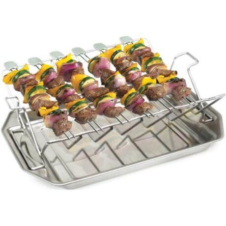 grillsütő, 3 az 1ben sütőállvány