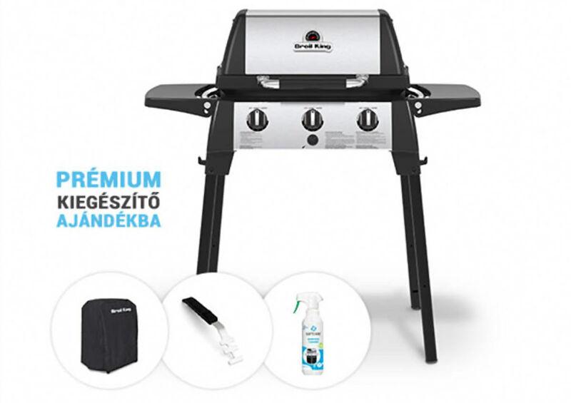 Broil King kerti gázgrill - Porta Chef 320 csomag akció!