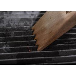 Fa BBQ grill kaparó