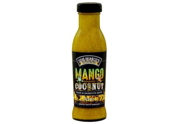 Don Marco's Mango/Habanero/Kókusz Glaze és BBQ szósz 275 ml