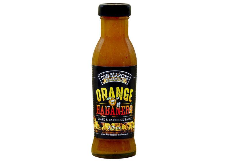 Don Marco's Narancs/Habanero Glaze és BBQ szósz 275 ml