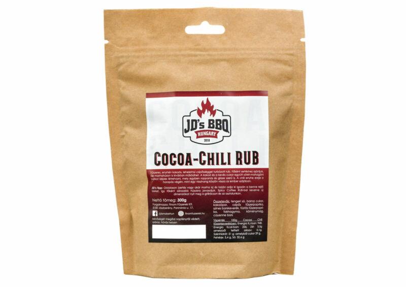 Cocoa-Chili Rub
