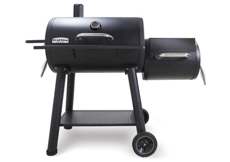 Broil King Offset Smoker füstölő, Grill eszköz , Grill kiegészítő