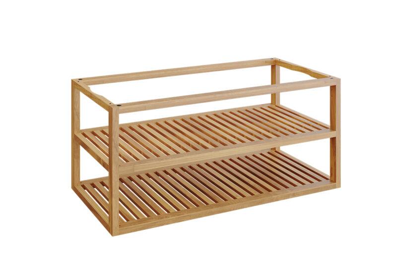 OFYR Storage Insert PRO Teak Wood Large